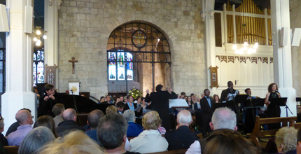 University of Southampton Voices performing at St Michael's Church, Southampton