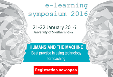 Register now for the 2016 LLAS e-learning symposium!