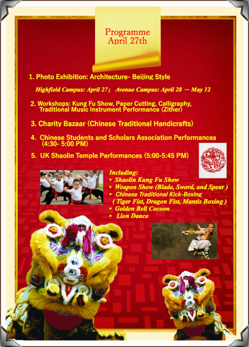 Celebrate Chinese culture at China Day