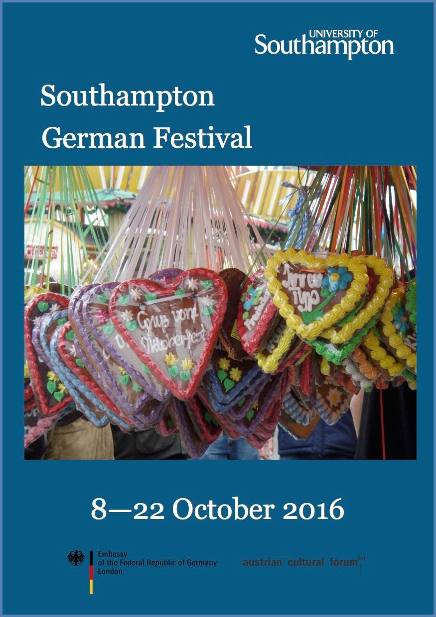 Climax of the Southampton German Festival tomorrow!