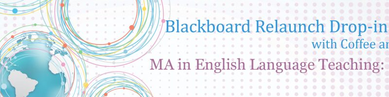 Drop-in Event: MA in ELT: Online relaunch